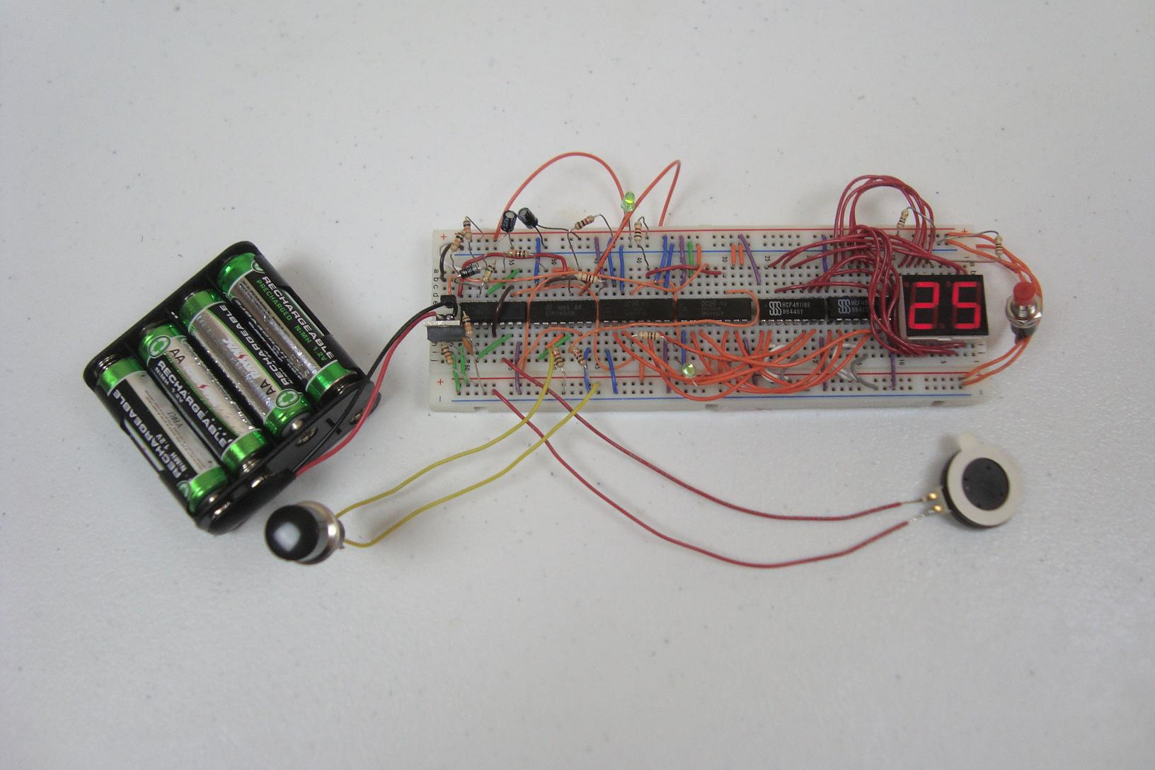 Beeping Down Counter Introduction Pyroelectro News Projects Simple Pic Usb Interface Schematic Setup