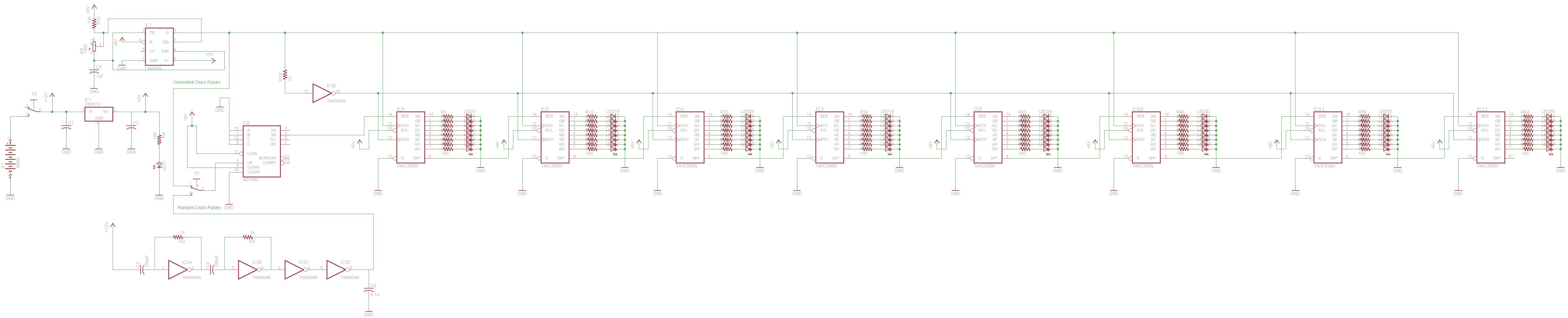 Christmas Tree Odigital Logic Schematic Pcb Layout Pyroelectro Diagram View Full