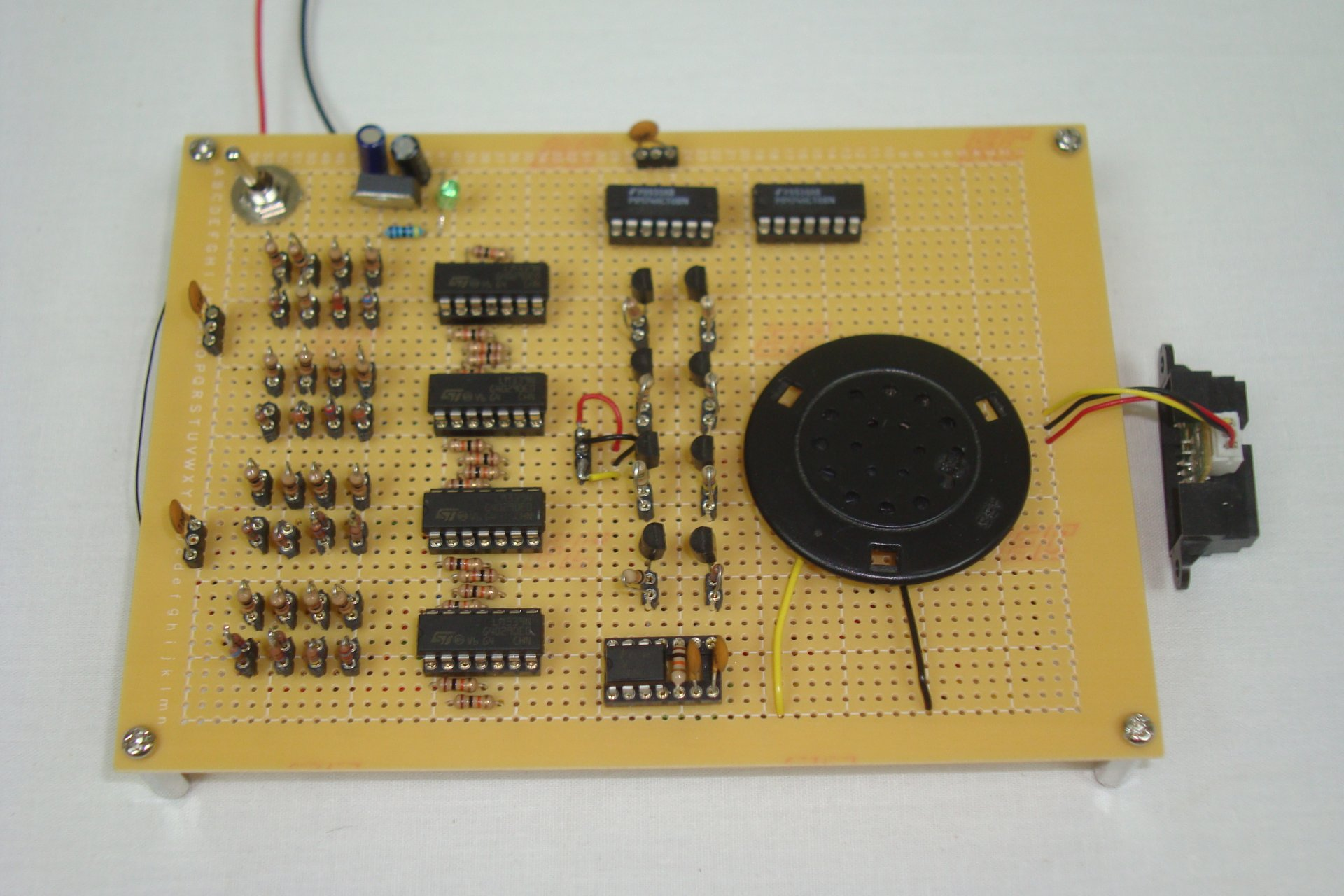 Digital Ir Theremin Making The Pcb Pyroelectro News Projects Simple Touch Screen Interface Schematic Tutorials