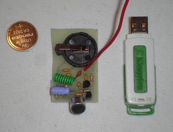 مدار فرستنده ی بسیار کوچک FM