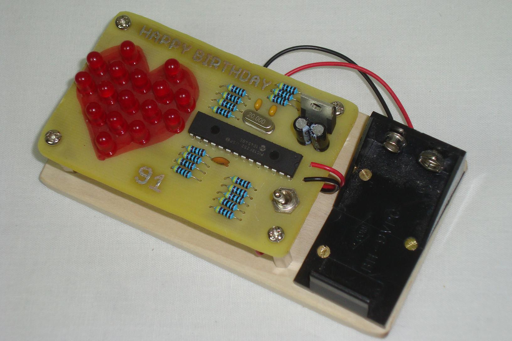 Led Heart Pwm Fading Conclusion Pyroelectro News Projects Circuits Tutorials