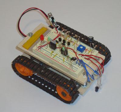 робот лайн-трейсер