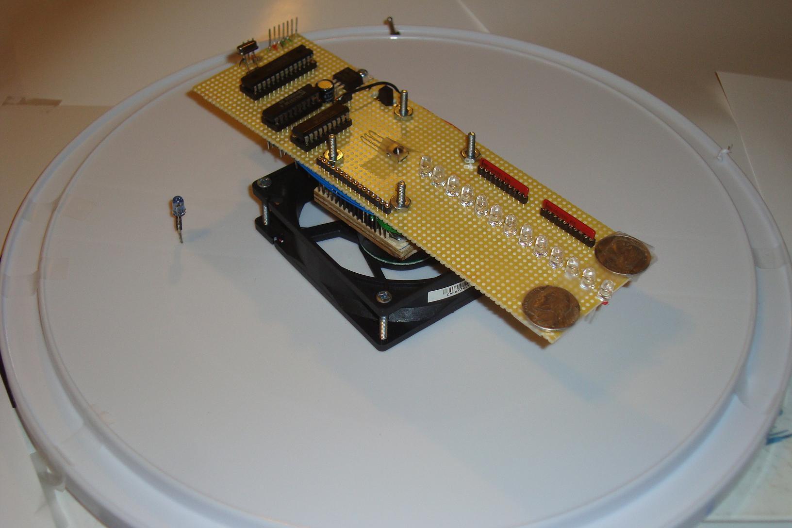 Propeller Clock Kit : Pyro propeller clock pov introduction pyroelectro