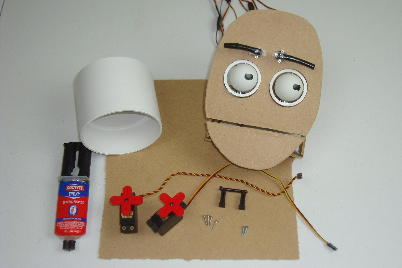 how to build an animatronic head