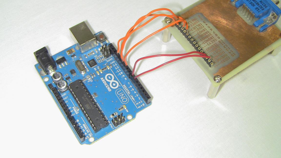 Arduino vga via interrupts hardware pyroelectro news