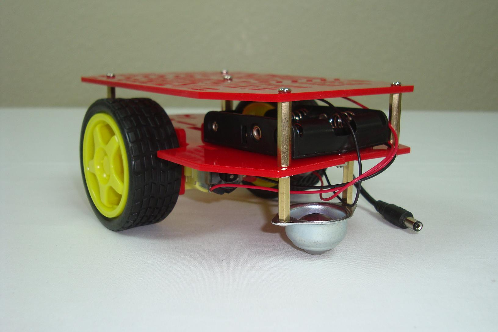 Building A Robot Chassis Conclusion Pyroelectro News Projects Simple Touch Screen Interface Schematic Tutorials