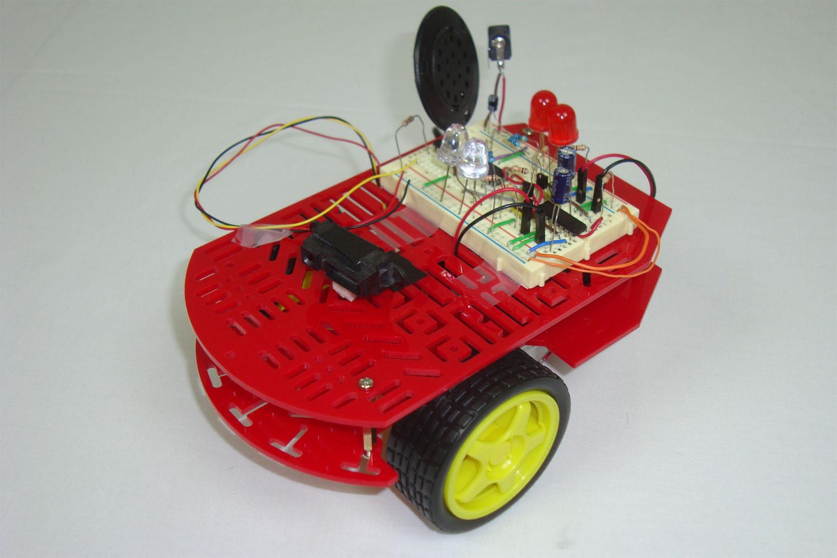 Building A Robot Proximity Sensor Introduction Pyroelectro News How To Build An Infrared Ir Distance Circuit The Setup