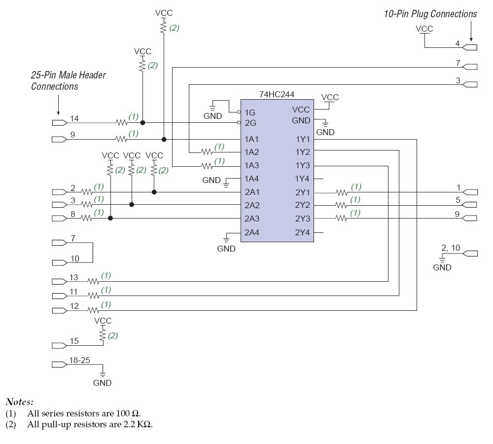 Byteblastermv Diy Programmer Schematic Pyroelectro News 25 Pin Rs232 Wiring Diagram View Full Specifics Male Header