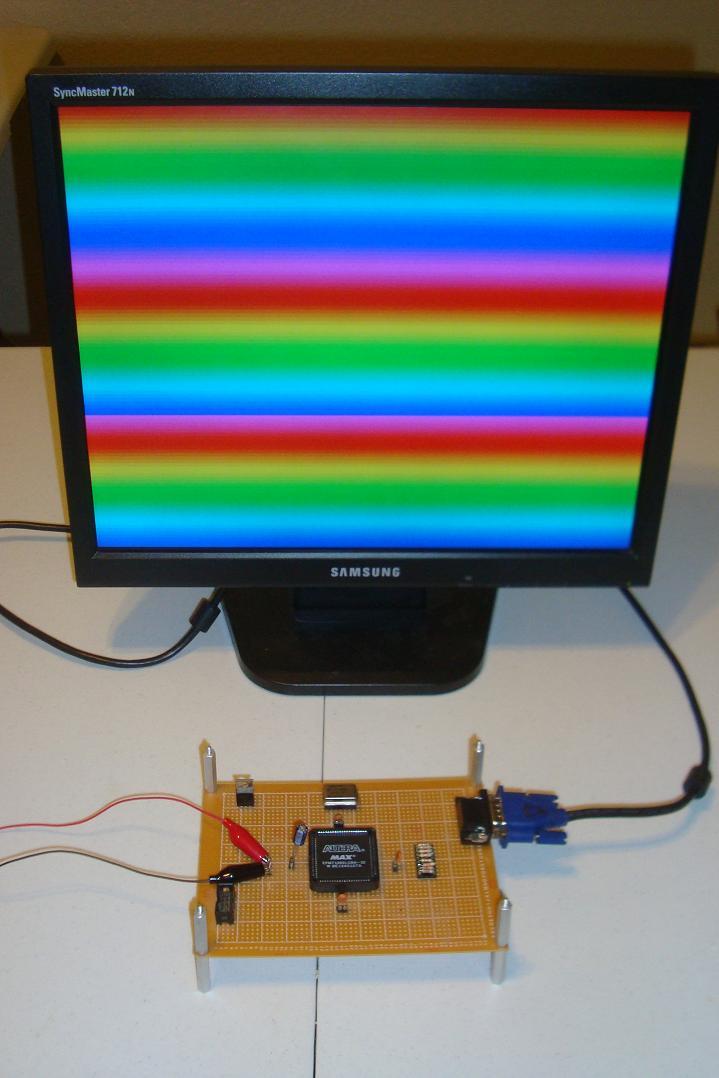 FPGA VGA Resistor DAC - Introduction   PyroElectro - News, Projects
