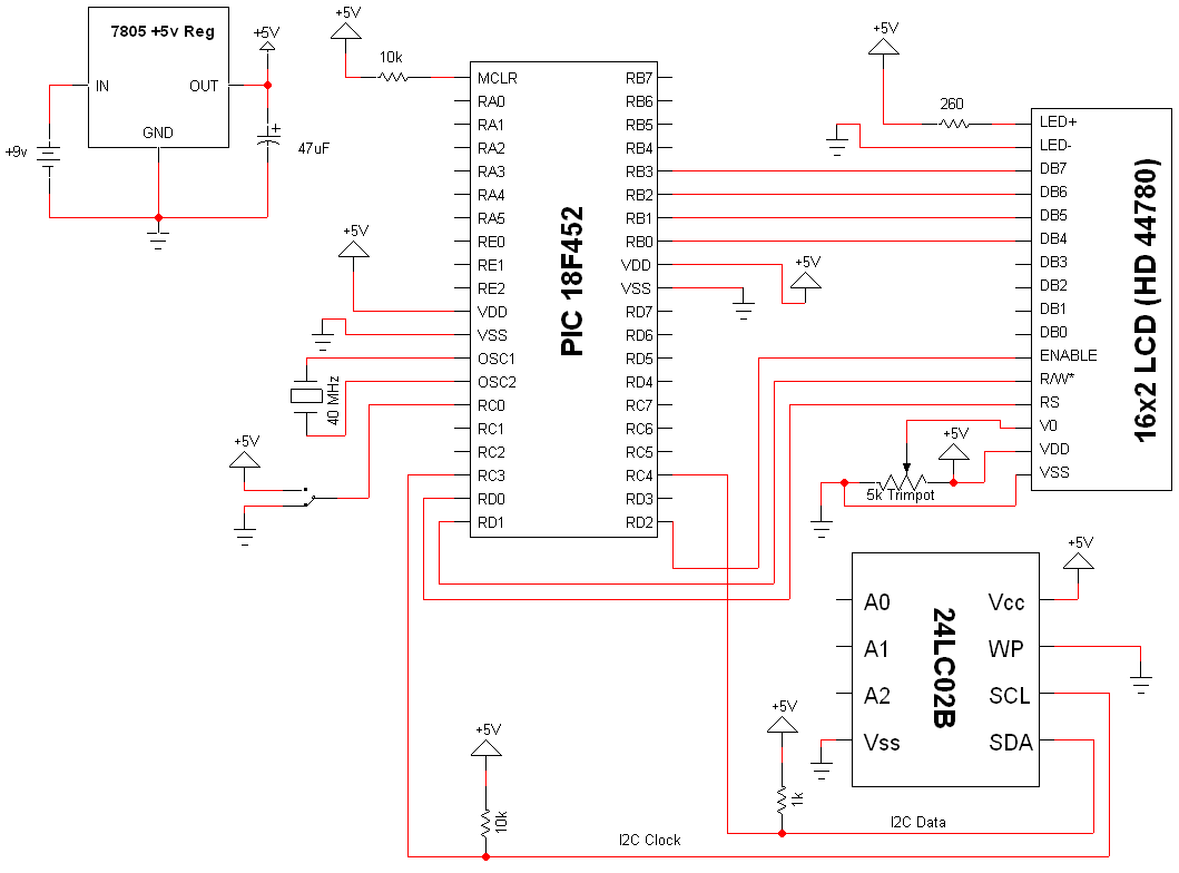 I2c pic interfacing tutorial schematic pyroelectro news view full schematic baditri Images