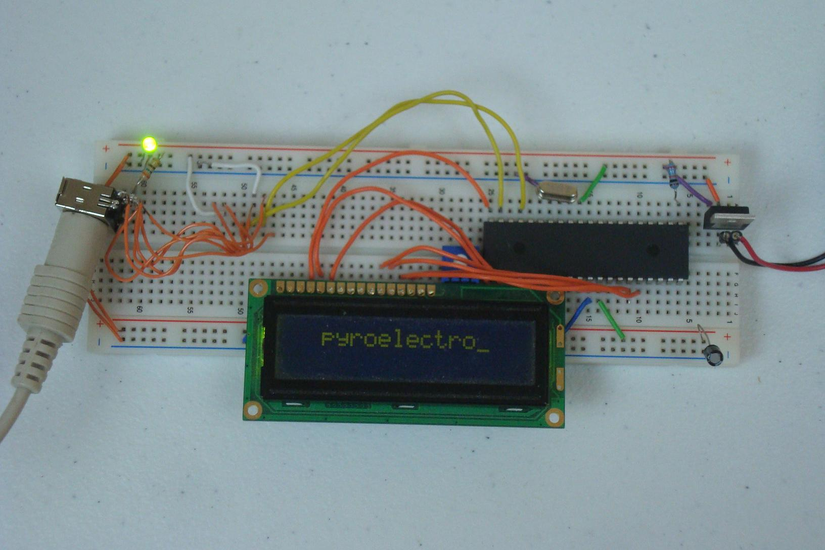 Ps 2 Keyboard To 16x2 Lcd Introduction Pyroelectro News Simple Pic Usb Interface Schematic Projects Main Board
