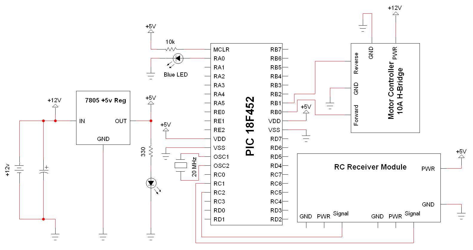 Quick And Easy Wireless Schematic Pyroelectro News Projects Microcontroller Based Schematics Circuits Tutorial View Full Specifics Power Circuit