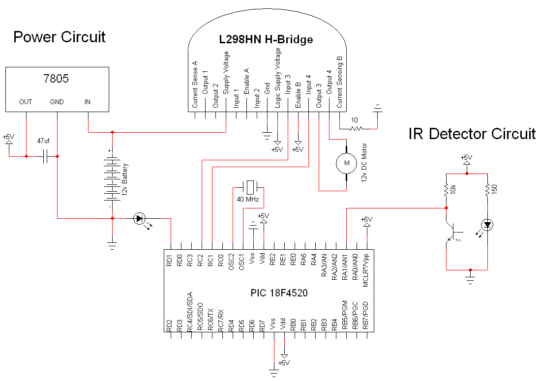 simple motor optical encoder schematic pyroelectro news