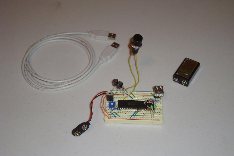 Simple PIC USB Interface - Introduction | PyroElectro - News