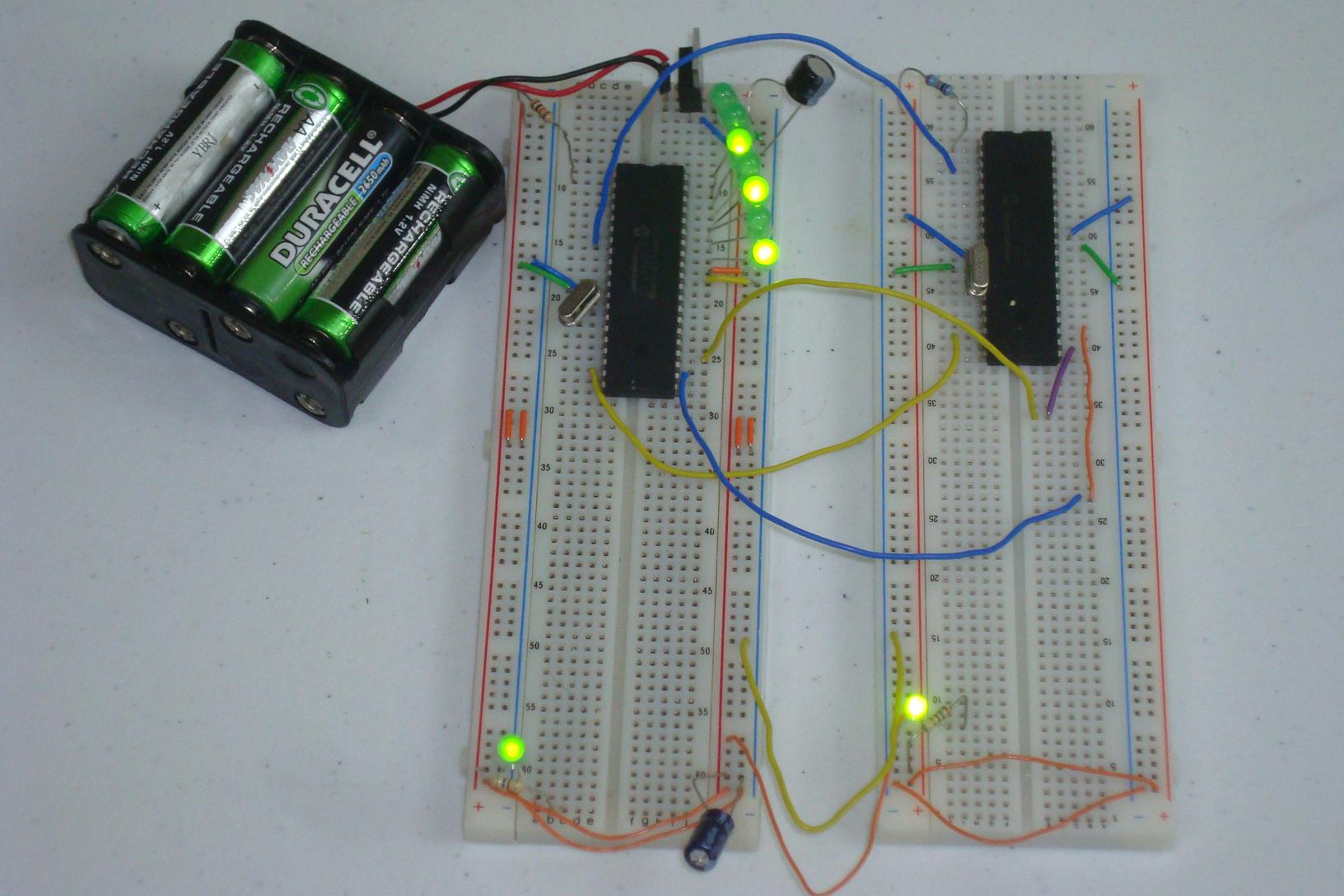 SPI Master / SPI Slave via PIC - Introduction | PyroElectro - News