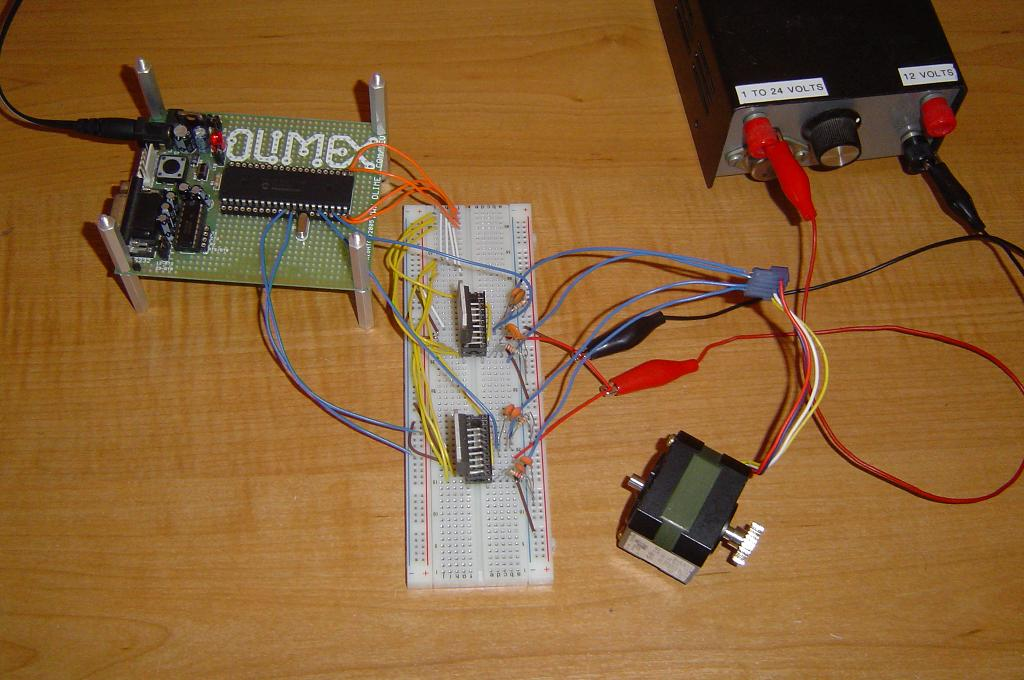 Stepper Motor Controller Driver Circuits Images