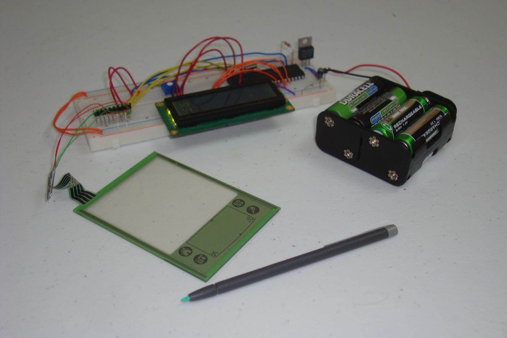 Simple Touch Screen Interface Conclusion Pyroelectro News Electronic Circuits Projects Tutorials