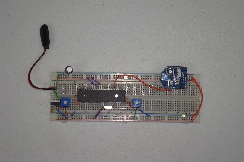 Xbee Wireless Servo Control Arduino and Arduino